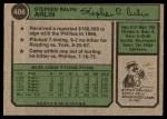 1974 Topps #406  Steve Arlin  Back Thumbnail
