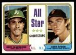 1974 Topps #335   -  Bert Campaneris / Chris Speier All-Star Shortstops   Front Thumbnail