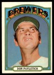 1972 Topps #359  Don Pavletich  Front Thumbnail