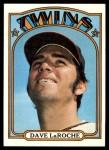 1972 Topps #352  Dave LaRoche  Front Thumbnail
