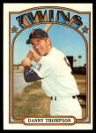 1972 Topps #368  Danny Thompson  Front Thumbnail
