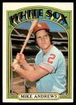 1972 Topps #361  Mike Andrews  Front Thumbnail