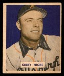 1949 Bowman #215  Kirby Higbe  Front Thumbnail