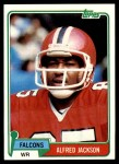 1981 Topps #106  Alfred Jackson  Front Thumbnail