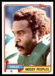1981 Topps #154  Woody Peoples  Front Thumbnail