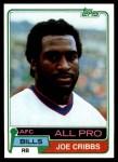 1981 Topps #360  Joe Cribbs  Front Thumbnail
