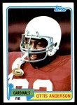 1981 Topps #365  Ottis Anderson  Front Thumbnail