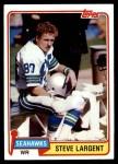 1981 Topps #271  Steve Largent  Front Thumbnail
