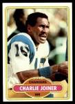 1980 Topps #28  Charlie Joiner  Front Thumbnail