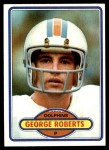 1980 Topps #56  George Roberts  Front Thumbnail