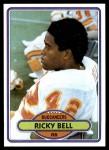 1980 Topps #81  Ricky Bell  Front Thumbnail