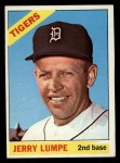 1966 Topps #161 ERR Jerry Lumpe  Front Thumbnail