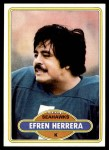 1980 Topps #215  Efren Herrera  Front Thumbnail