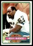 1980 Topps #218  Reggie McKenzie  Front Thumbnail