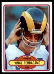 1980 Topps #239  Vince Ferragamo  Front Thumbnail