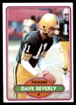 1980 Topps #259  Dave Beverly  Front Thumbnail