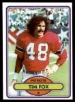1980 Topps #269  Tim Fox  Front Thumbnail