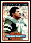 1980 Topps #285   -  Marvin Powell All-Pro Front Thumbnail