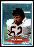 1980 Topps #287  Dan Neal  Front Thumbnail