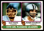 1980 Topps #331   -  R.Staubach / Fouts Passing Leaders Front Thumbnail