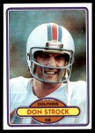 1980 Topps #381  Don Strock  Front Thumbnail