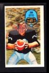 1970 Kellogg's #2  Jim Otto  Front Thumbnail