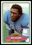 1980 Topps #409  Jim Allen  Front Thumbnail