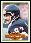 1980 Topps #414  Gary Shirk  Front Thumbnail