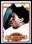1980 Topps #448  Otis Armstrong  Front Thumbnail