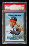1967 Topps #591  Ty Cline  Front Thumbnail