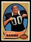 1970 Topps #116  Jim Otto  Front Thumbnail