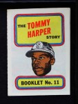 1970 Topps Booklets #11  Tommy Harper  Front Thumbnail