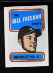 1970 Topps Booklets #6  Bill Freehan  Front Thumbnail
