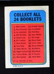 1970 Topps Booklets #15  Pete Rose  Back Thumbnail