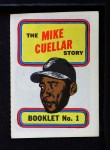 1970 Topps Booklets #1  Mike Cuellar  Front Thumbnail