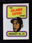 1970 Topps Booklets #13  Orlando Cepeda  Front Thumbnail