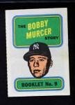 1970 Topps Booklets #9  Bobby Murcer  Front Thumbnail