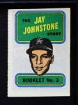 1970 Topps Booklets #3  Jay Johnstone  Front Thumbnail