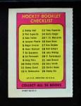 1971 Topps O-Pee-Chee Booklets #6  Henri Richard  Back Thumbnail