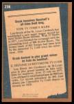 1978 O-Pee-Chee #236   -  Lou Brock Record Breaker Back Thumbnail