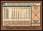 1978 O-Pee-Chee #190  Steve Garvey  Back Thumbnail