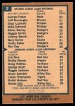 1978 O-Pee-Chee #2   -  George Foster / Jim Rice HR Leaders  Back Thumbnail