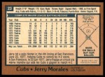 1978 O-Pee-Chee #23  Jerry Morales  Back Thumbnail
