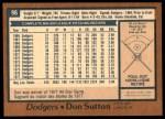 1978 O-Pee-Chee #96  Don Sutton  Back Thumbnail