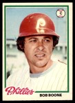 1978 O-Pee-Chee #141  Bob Boone  Front Thumbnail