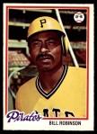 1978 O-Pee-Chee #128  Bill Robinson  Front Thumbnail