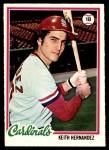 1978 O-Pee-Chee #109  Keith Hernandez  Front Thumbnail