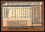 1978 O-Pee-Chee #196  Bruce Sutter  Back Thumbnail