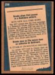 1978 O-Pee-Chee #239   -  Brooks Robinson Record Breaker Back Thumbnail
