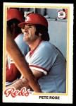 1978 O-Pee-Chee #100  Pete Rose  Front Thumbnail